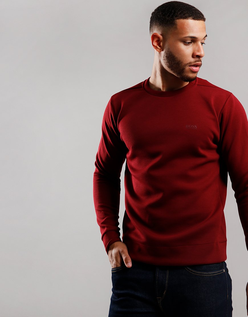 BOSS Salbo X Sweatshirt Dark Pink