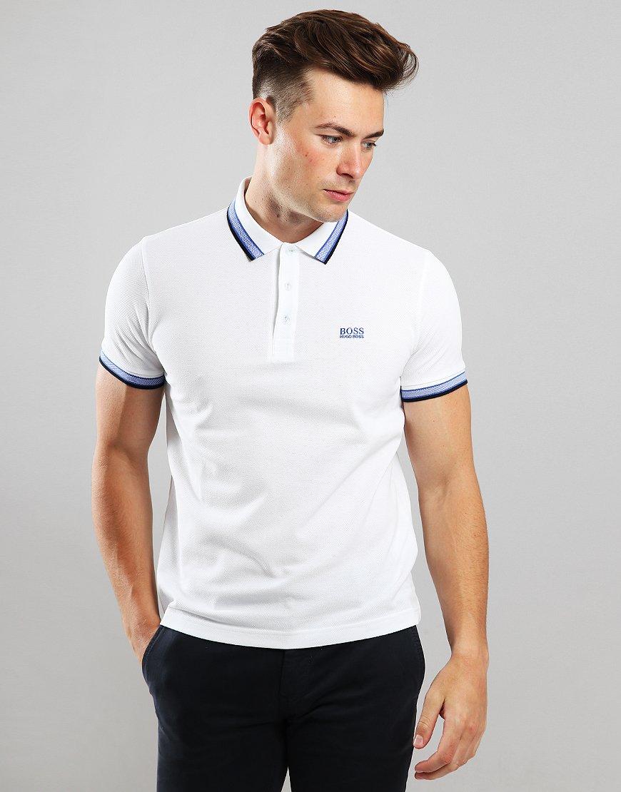 BOSS Paddy Regular Fit Polo Shirt Natural