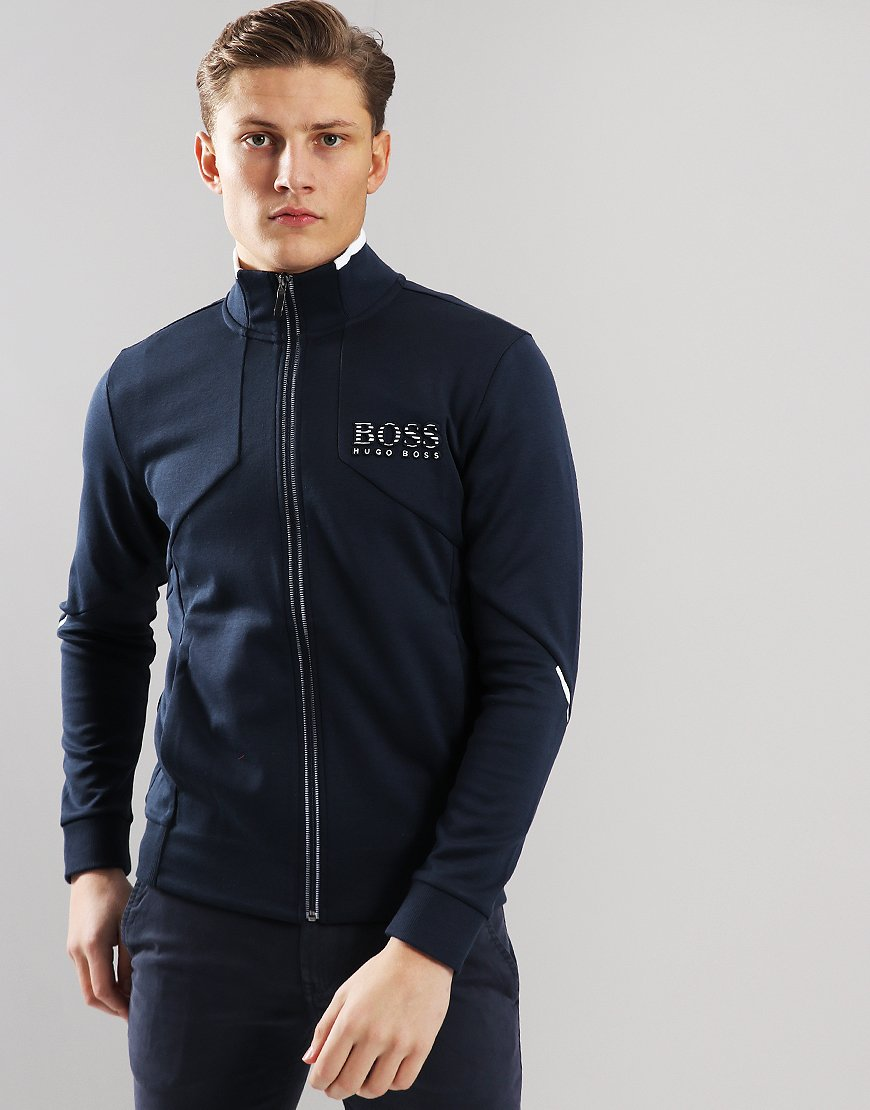BOSS Skaz Track Top Navy