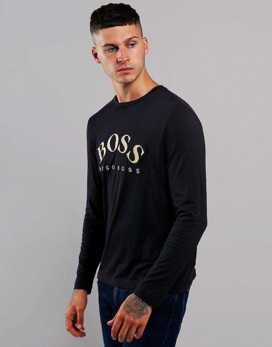 BOSS Togn 1 Long Sleeve T-Shirt Black