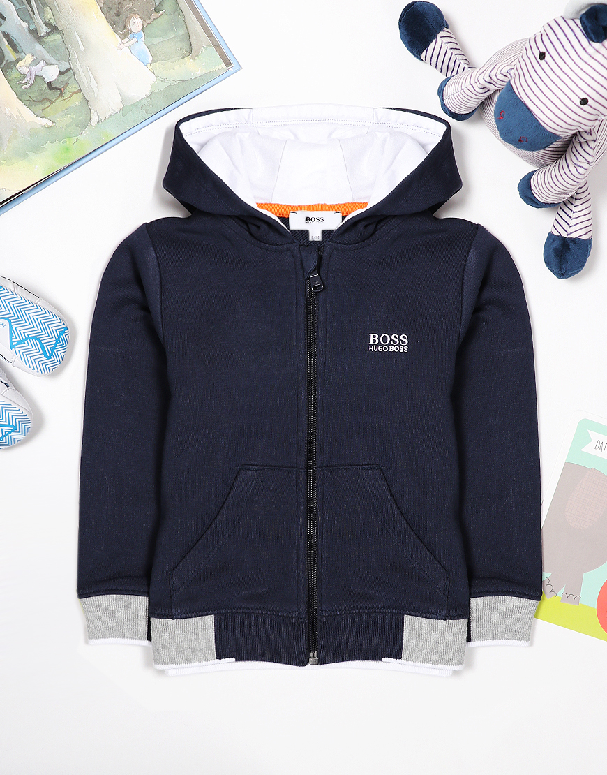 BOSS Baby Cardi Suit Sweat Navy