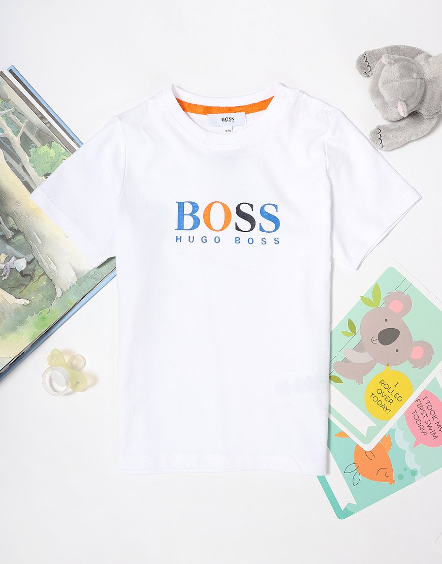 BOSS Baby Print T-Shirt White