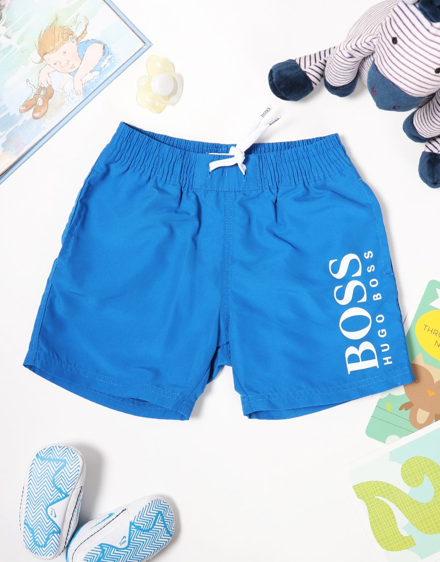 BOSS Baby Swim Shorts Turquoise