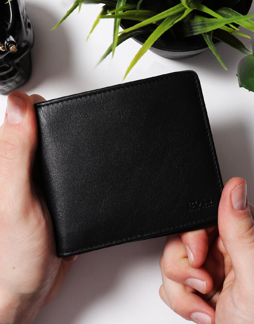 BOSS Majestic Billfold Wallet Black