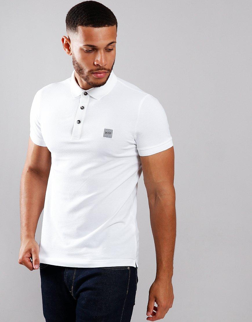 BOSS Passenger Polo Shirt White