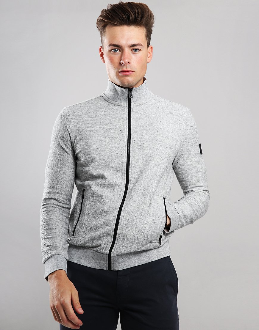 BOSS Zaldo Jacket Open Grey