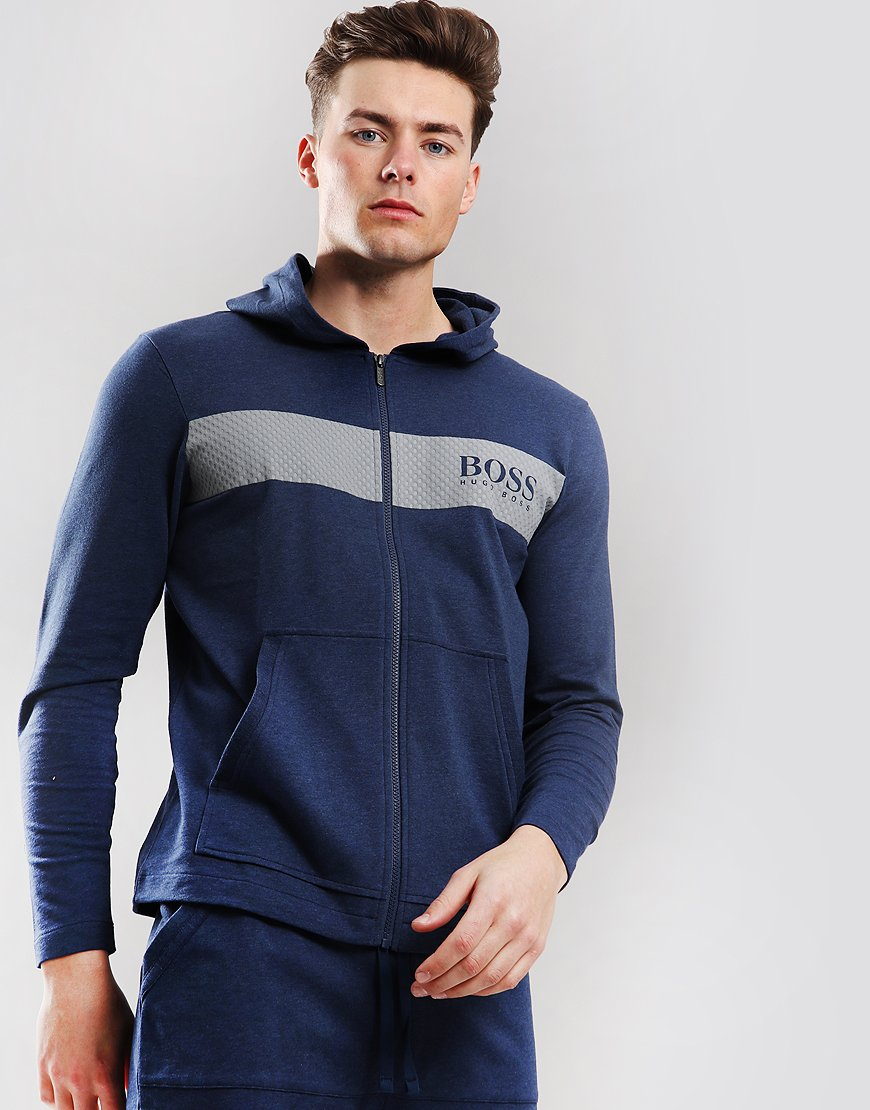 BOSS Contemporary Hooded Sweat Blue