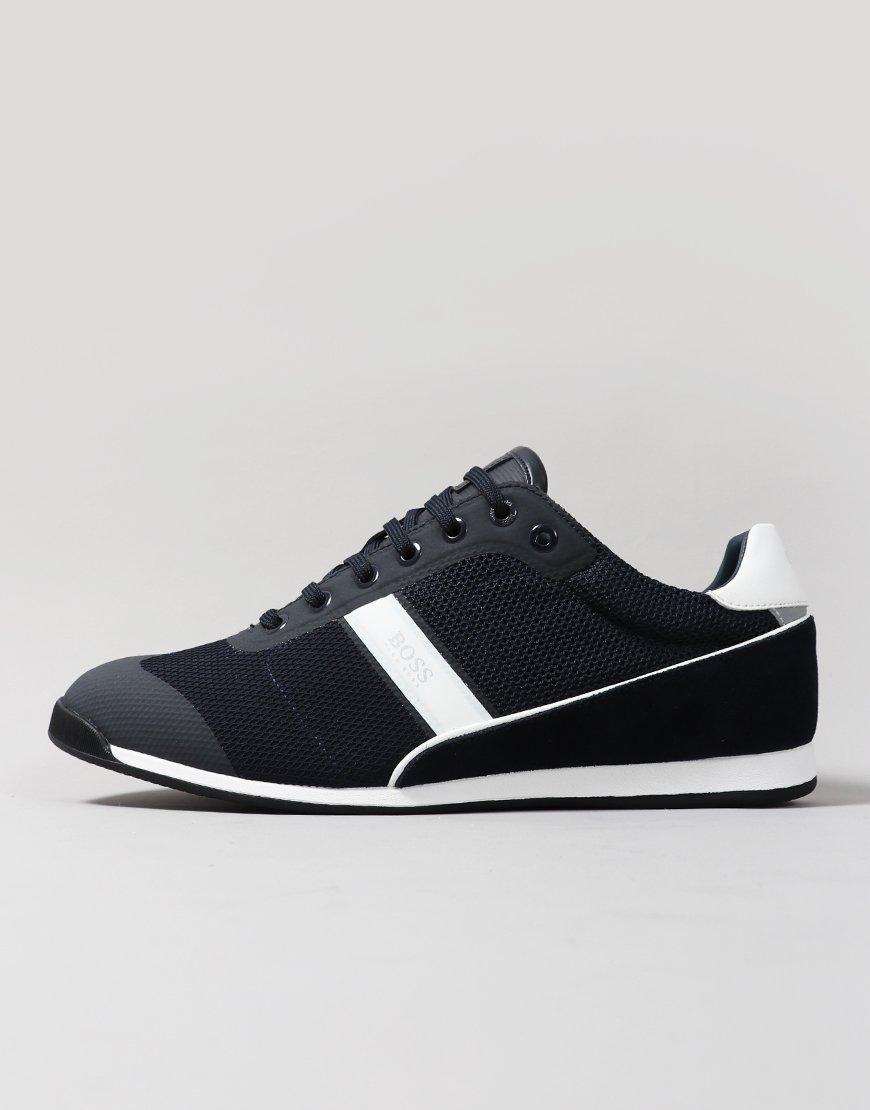 BOSS Glaze Lowp Mewt Sneakers Dark Blue