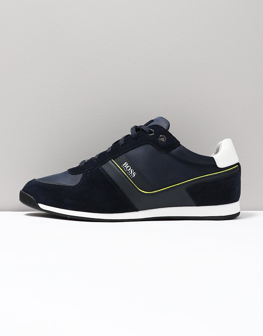 BOSS Glaze Lowp Sneakers Dark Blue
