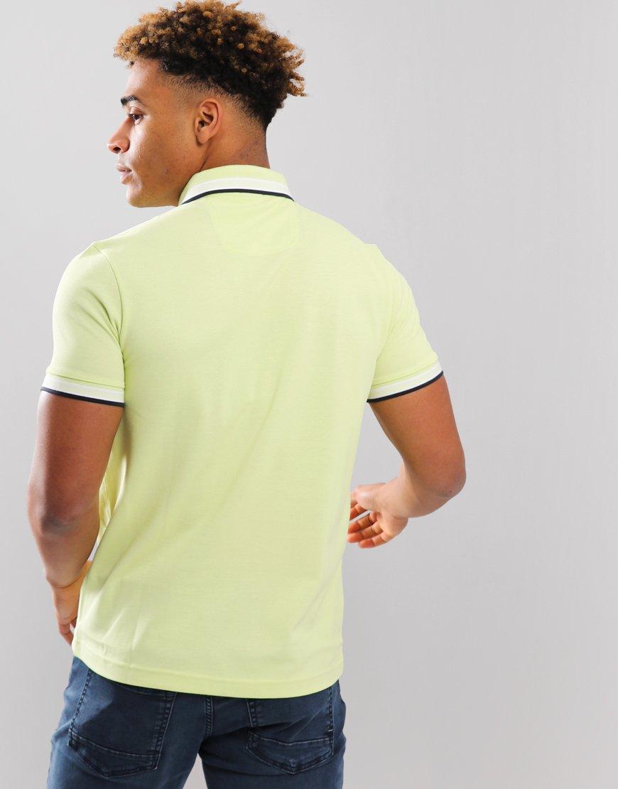 BOSS Paddy Regular Fit Polo Shirt Light Pastel/Yellow