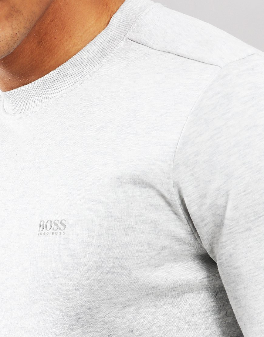 BOSS Salbo 1 Crew Sweat Light/Plastic Grey