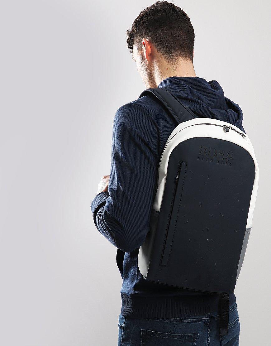 BOSS Hyper T Rubberised Backpack Navy