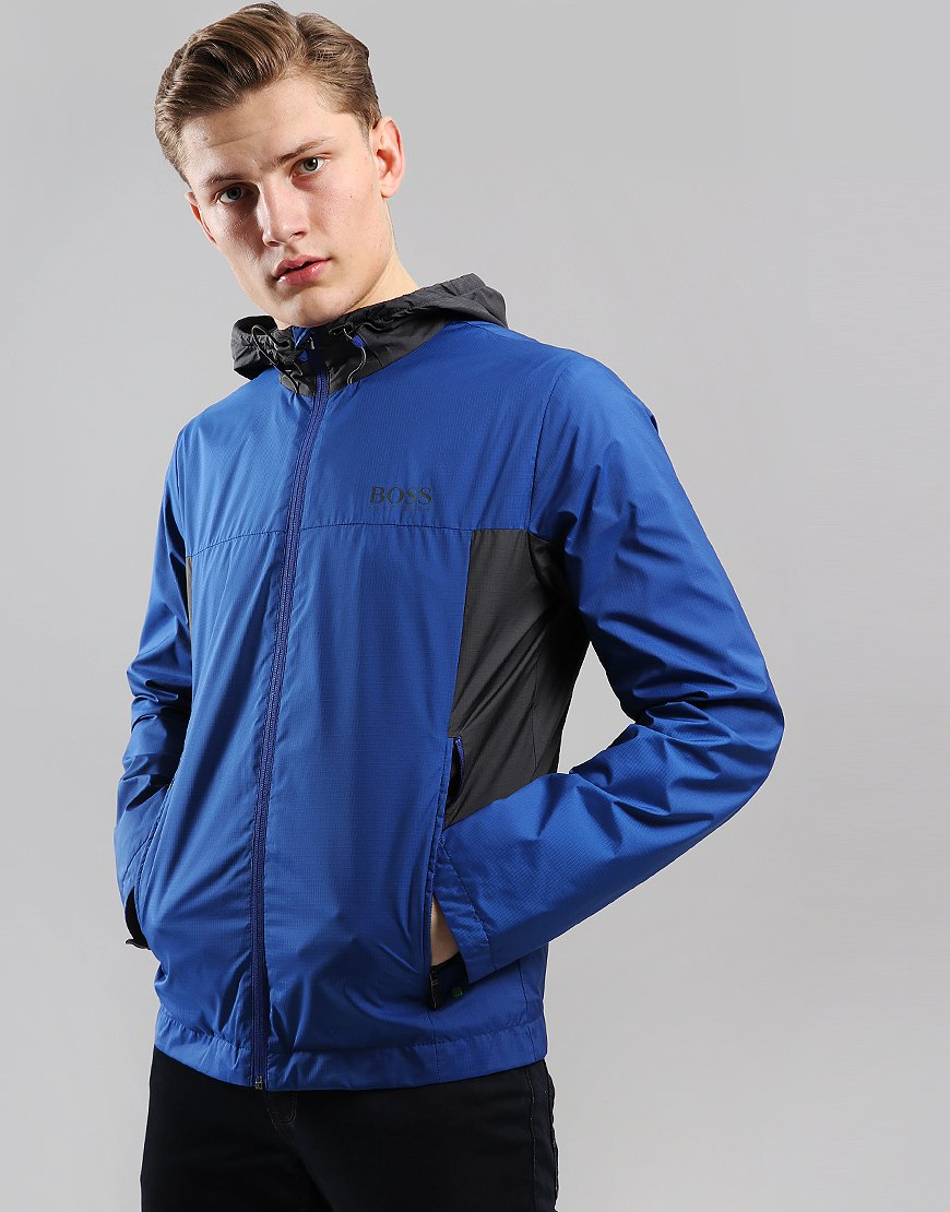 BOSS Jeltech 2 Ripstop Hooded Jacket Open Blue