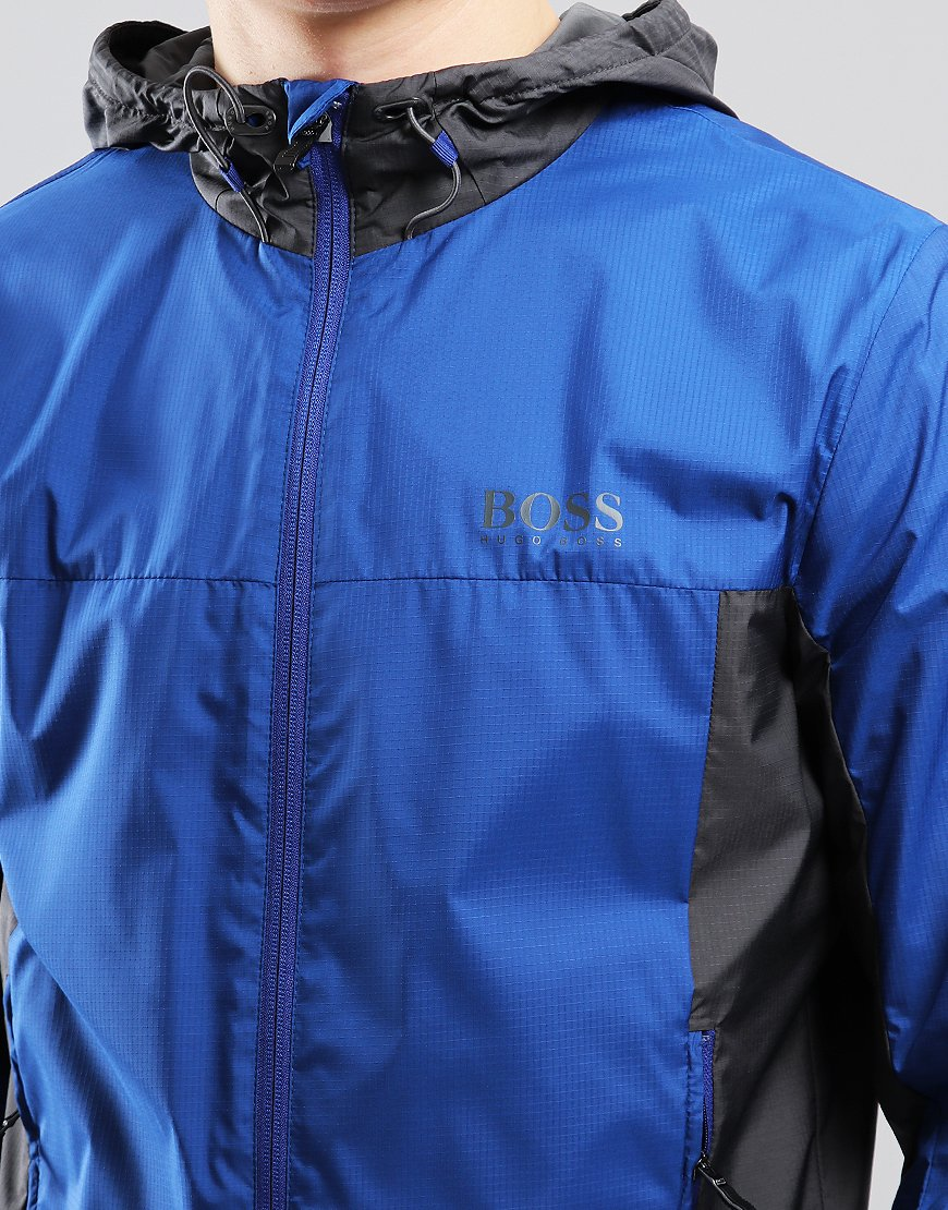 BOSS Jeltech 2 Ripstop Hooded Jacket Open Blue