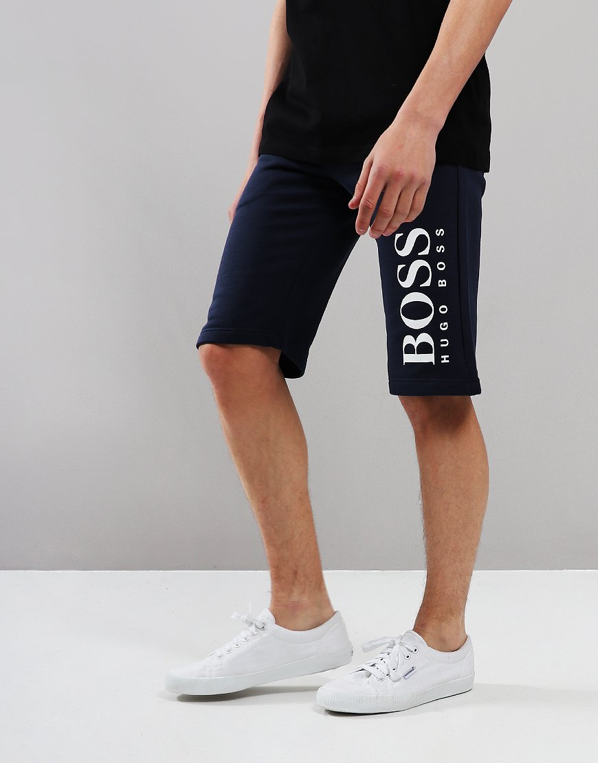 BOSS Kids Bermuda Shorts Navy