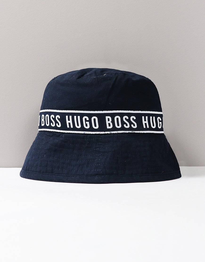 BOSS Kids Bucket Hat Navy