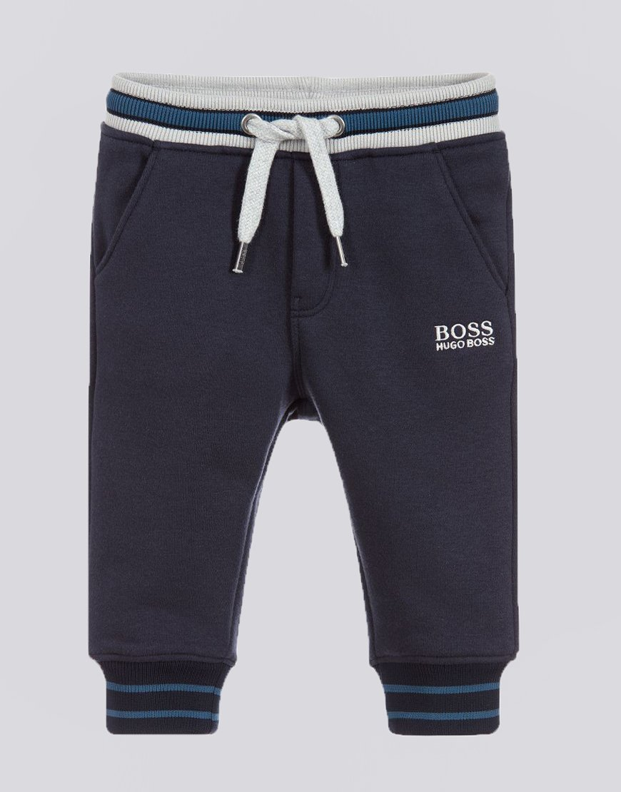 BOSS Kids J04320 Track Pants Navy Blue