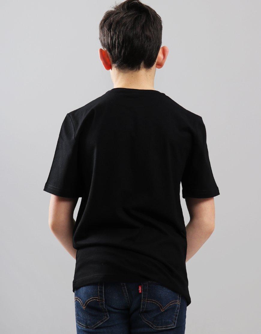 BOSS Kids Logo T-Shirt Black