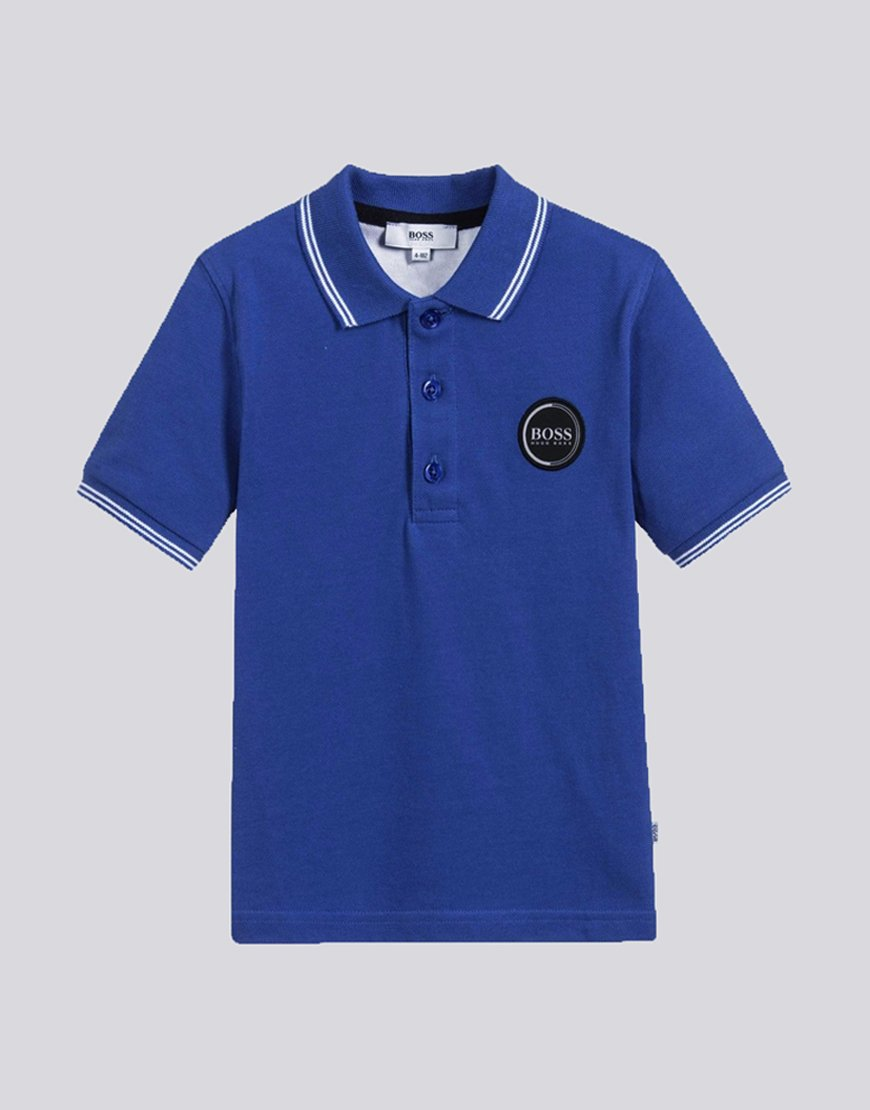 BOSS Kids J05660 Polo Shirt Electric Blue