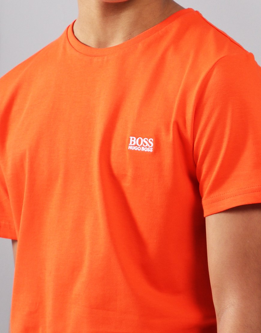 00d3354e54f BOSS Kids Small Logo T-Shirt Poppy - Terraces Menswear