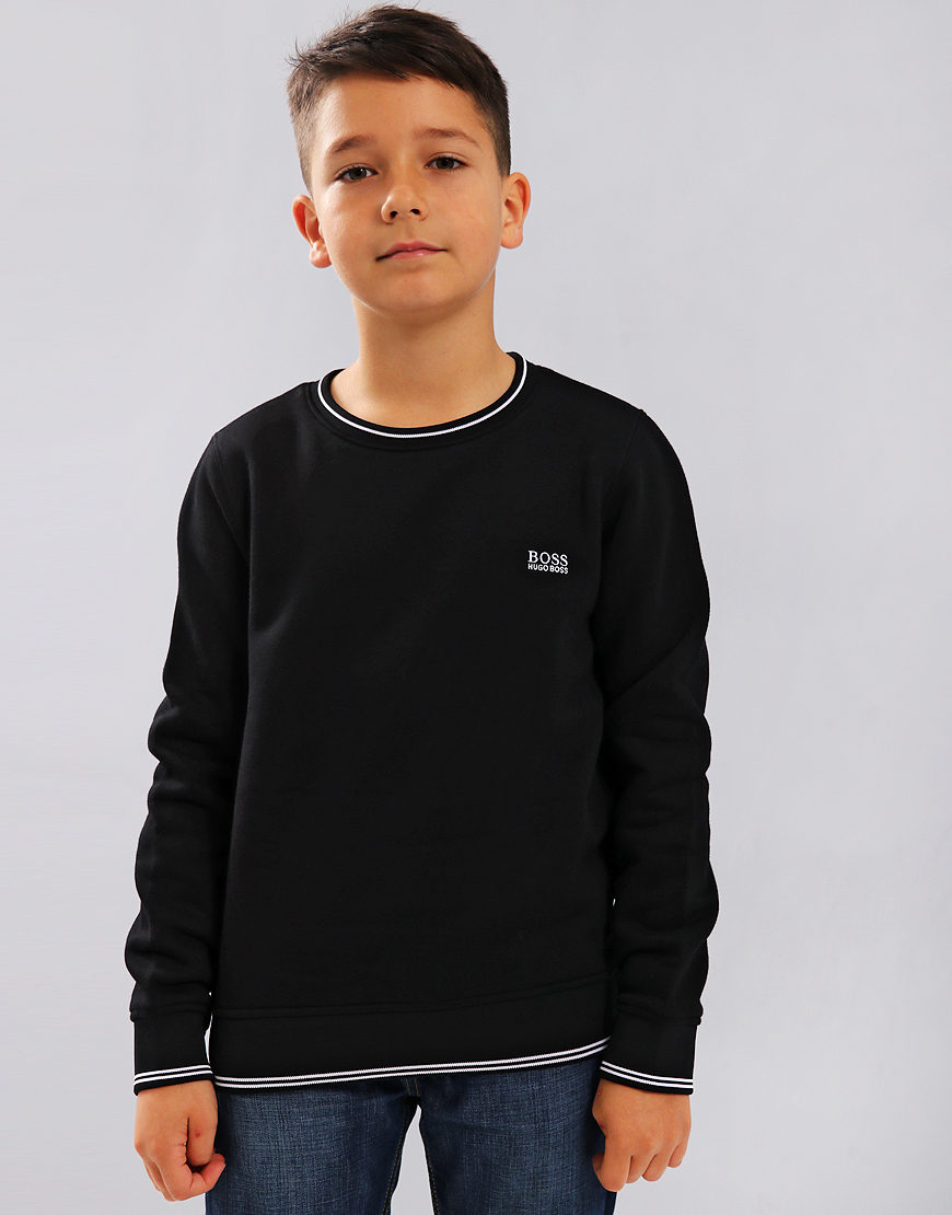 BOSS Kids J25C94 Sweatshirt Black