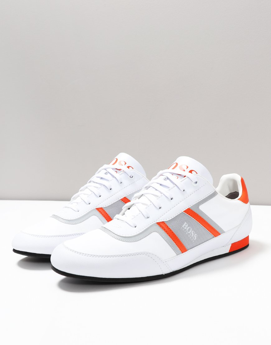 BOSS Lighter Lowp Sneakers Open White