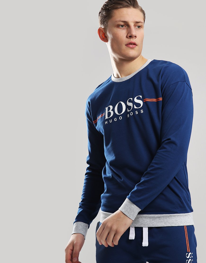 BOSS Auth Loungewear Sweat Bright Blue