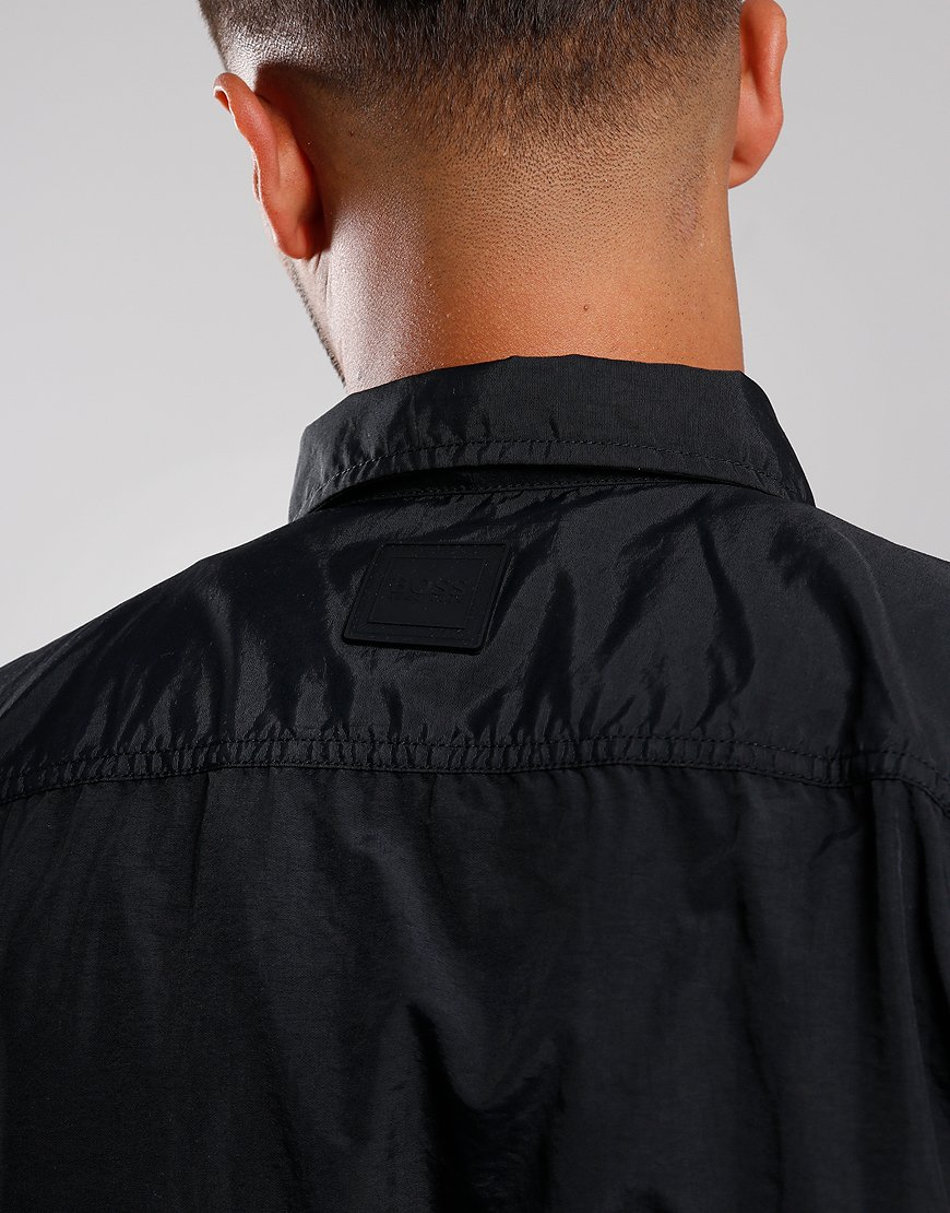 BOSS Lovel Zip 2 Overshirt Black