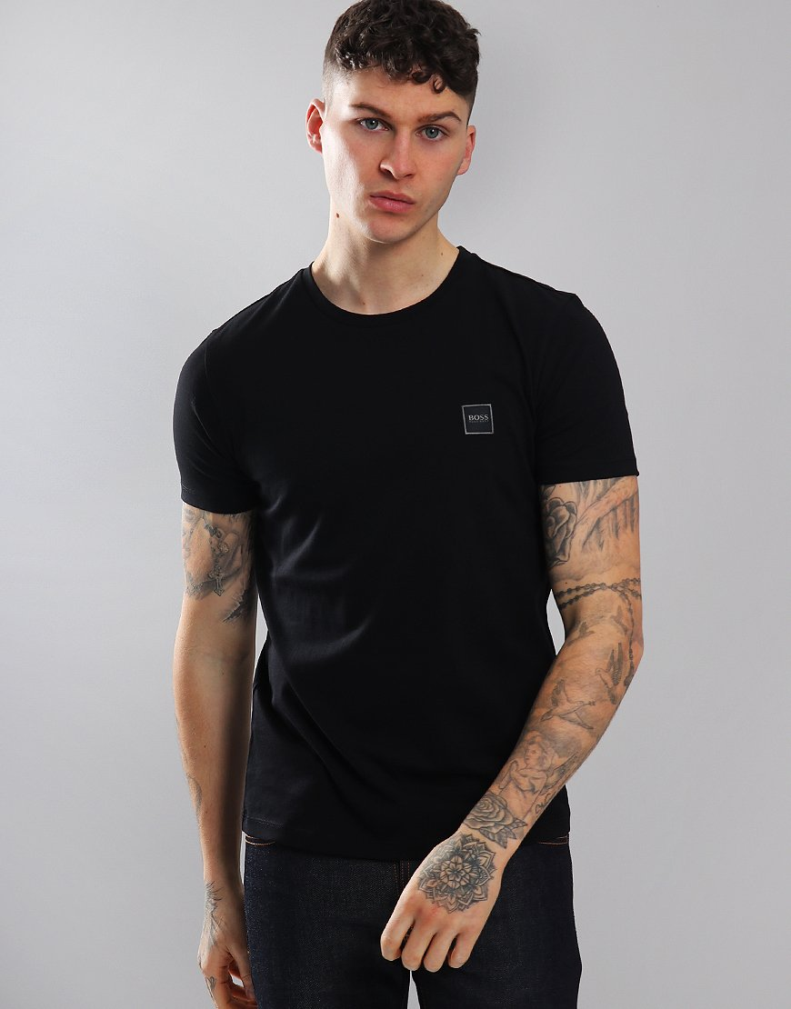 BOSS Tales Crew Neck T-Shirt Black