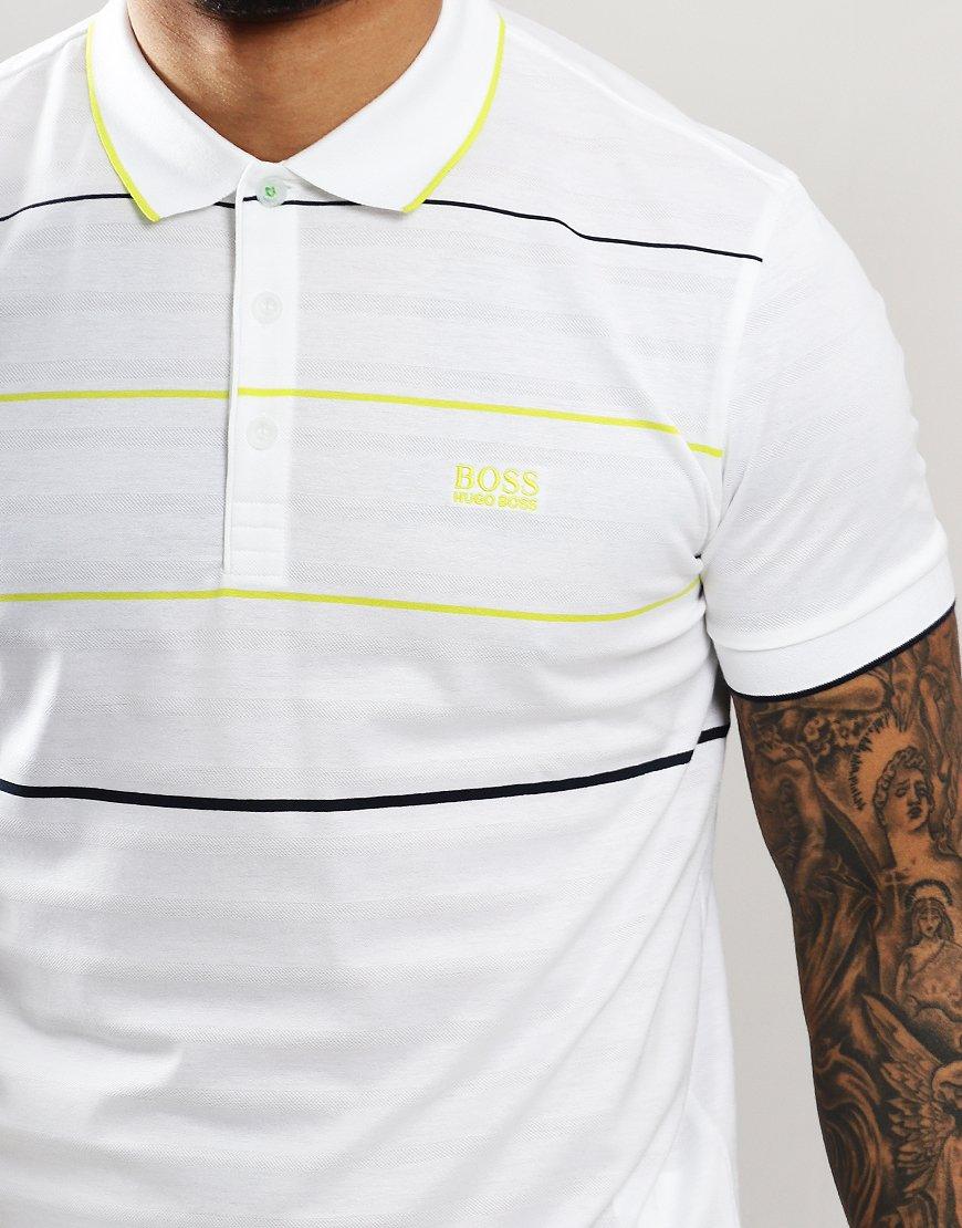bc754626e BOSS Paddy 5 Polo Shirt White - Terraces Menswear