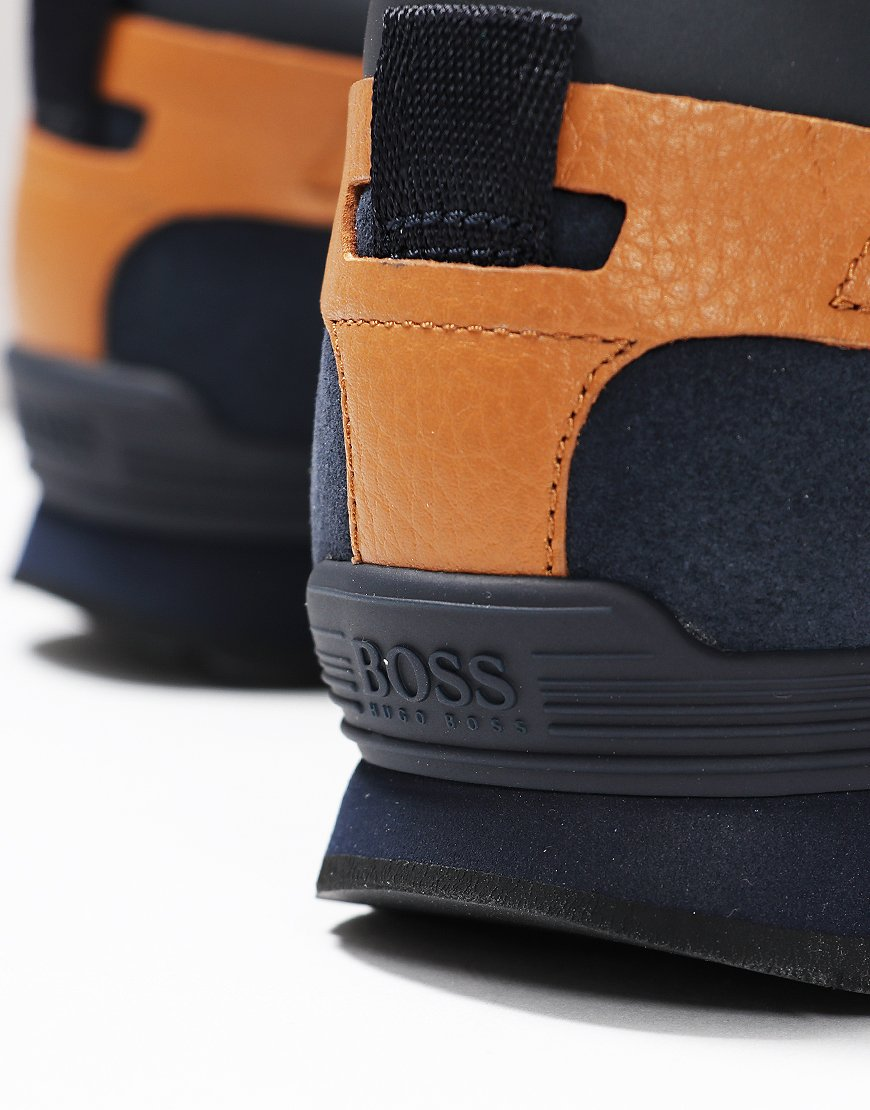BOSS Parkour Running Trainers Dark Blue