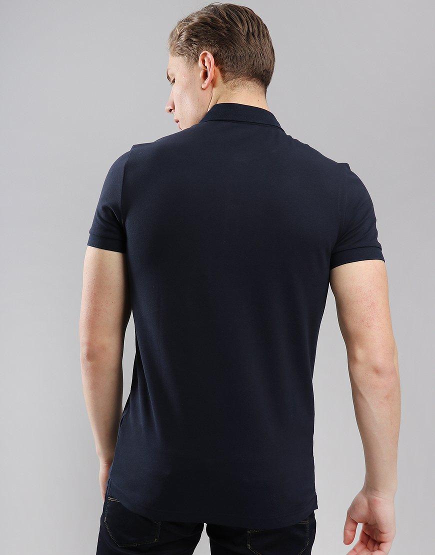 713b0a416c15 BOSS Passenger Slim Fit Stretch Polo Shirt Dark Blue - Terraces Menswear