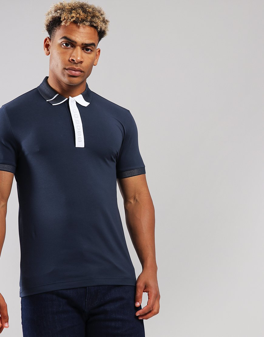 BOSS Paule 2 Polo Shirt Navy