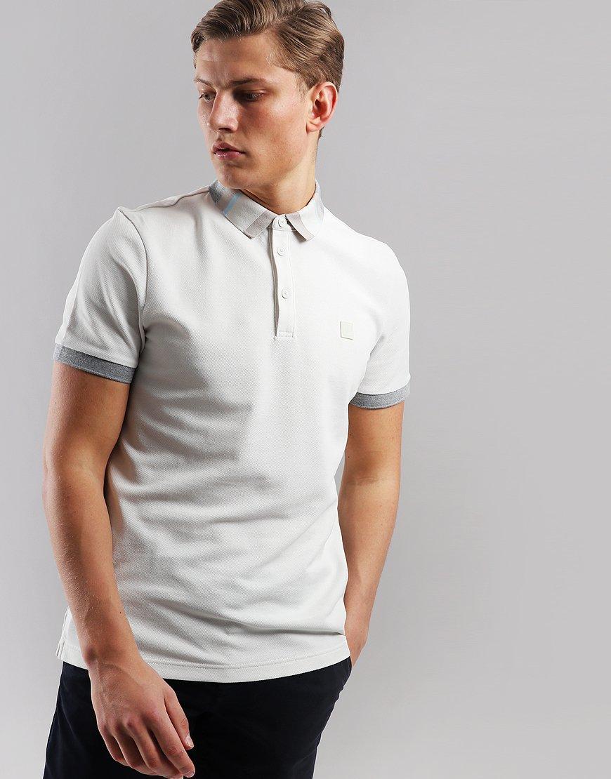 BOSS Polarized Polo Shirt Light Beige