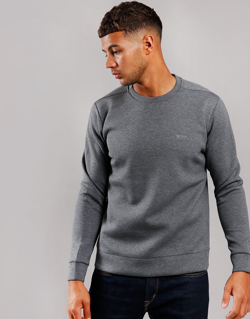 BOSS Salbo X Sweatshirt Medium Grey