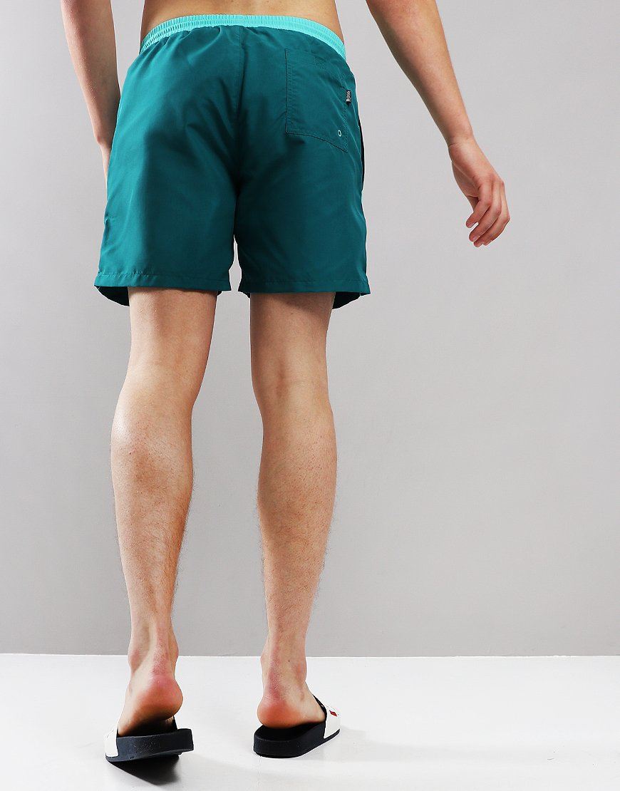 677cb1c1 BOSS Starfish Swimshorts Dark Green - Terraces Menswear