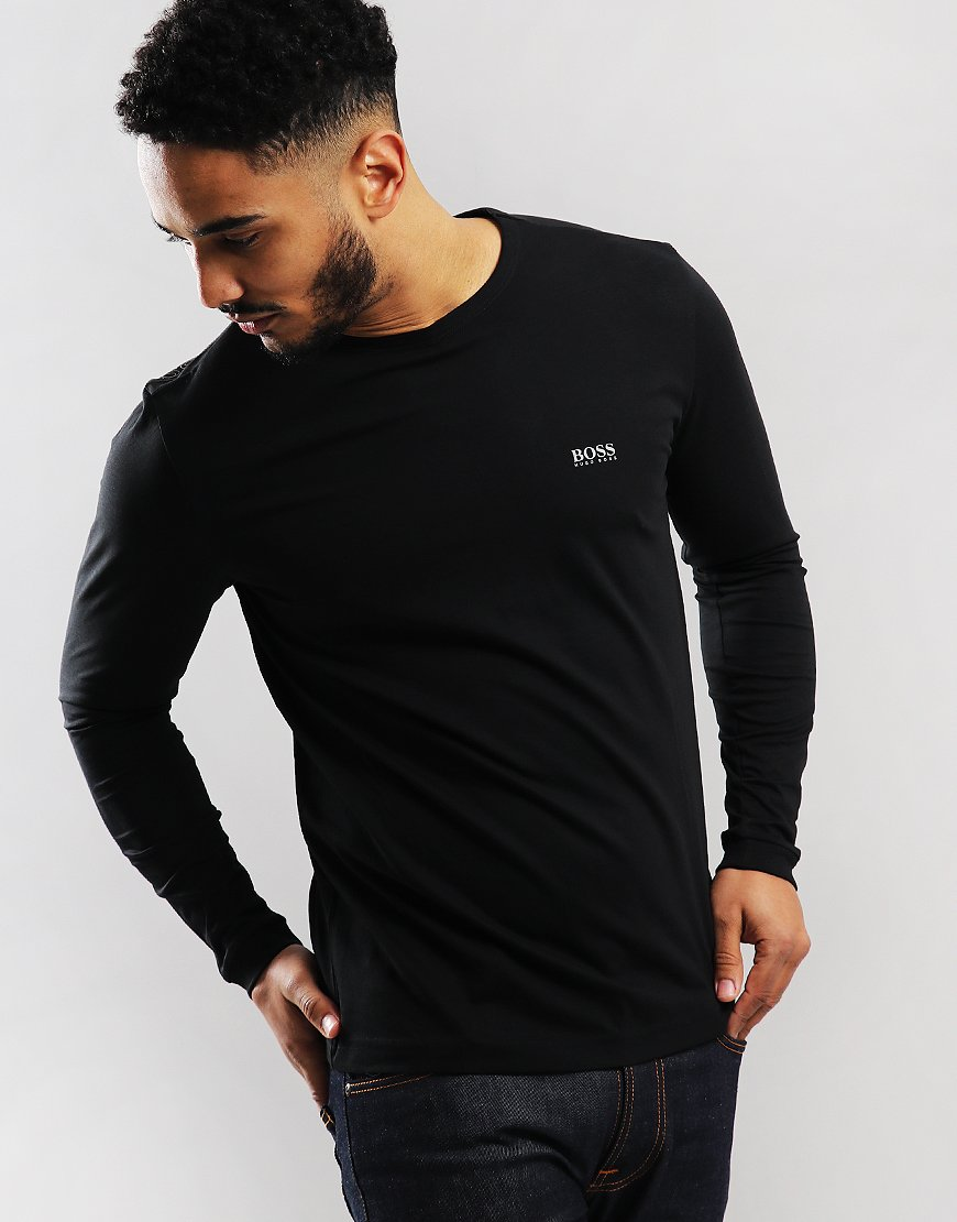 BOSS Togn Long Sleeve T-Shirt Black