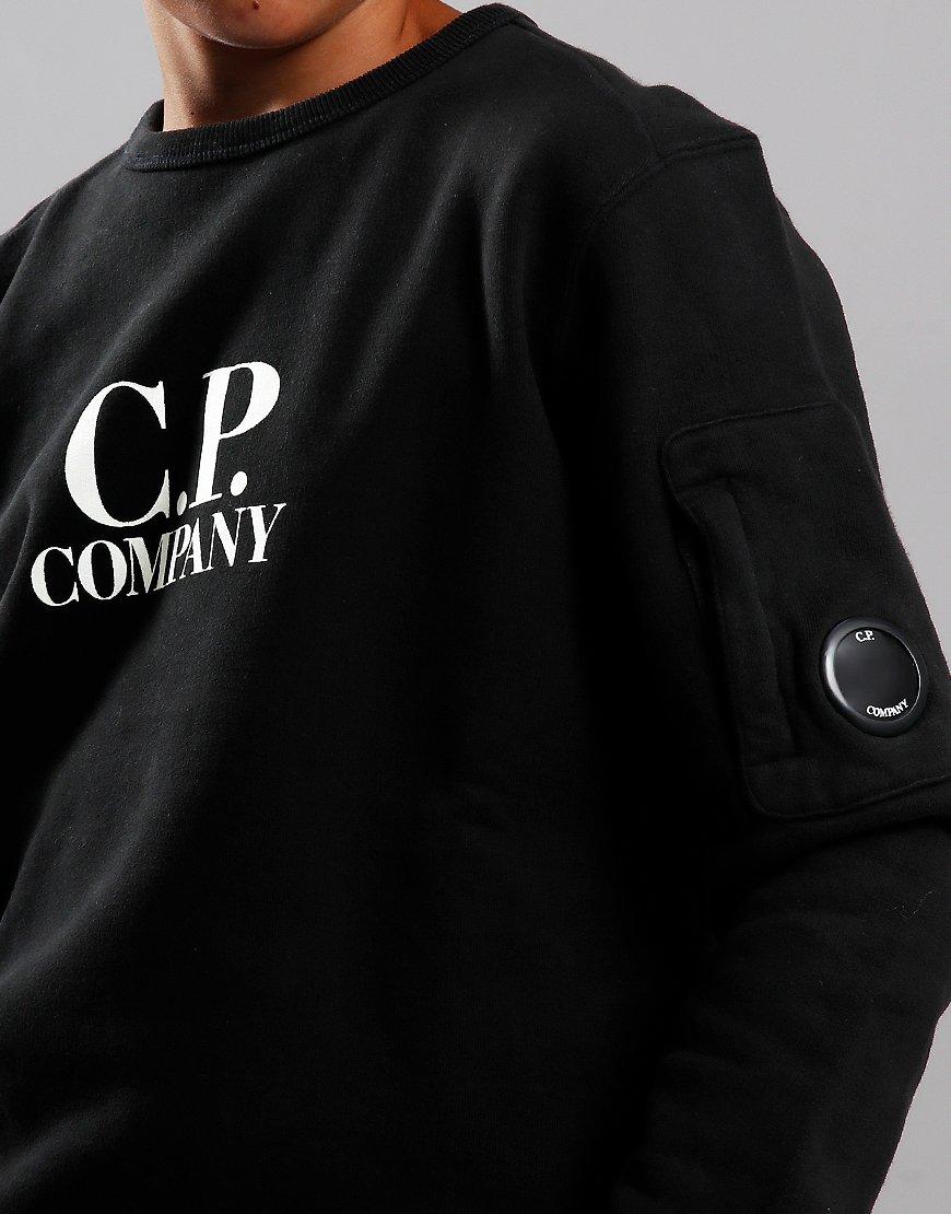 C.P. Company Kids Logo Lens Sweat Black