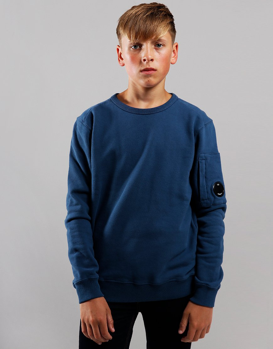 C.P. Company Kids Lens Sweat Dark Denim