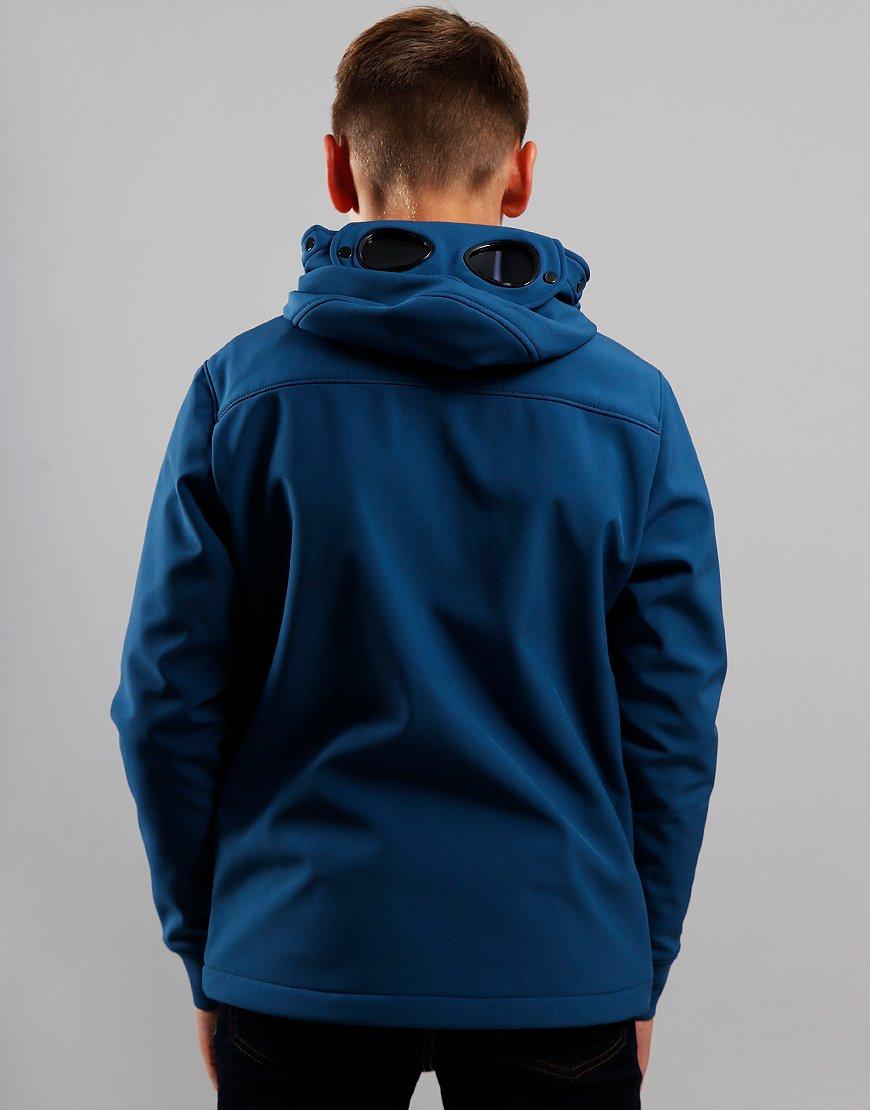 C.P. Company Kids Goggle Soft Shell Jacket Dark Denim