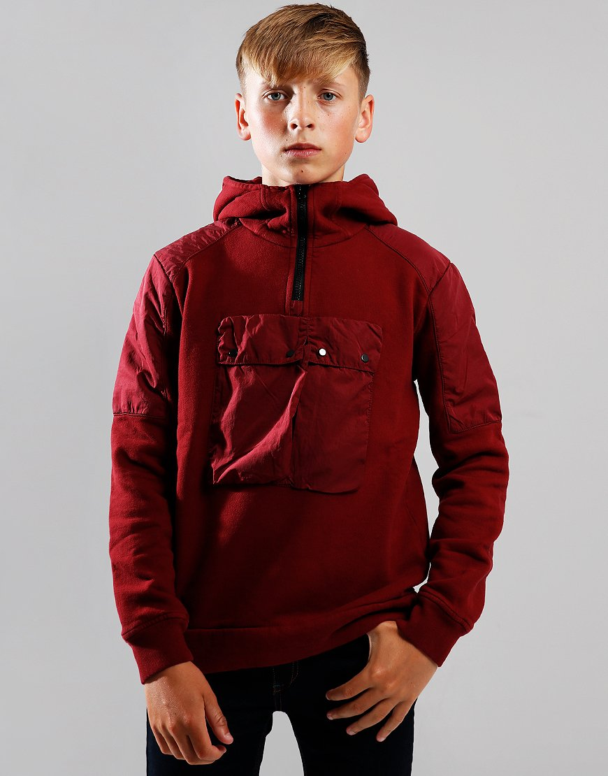 C.P. Company Kids Contrast Hooded Goggle Zip Sweat Scooter