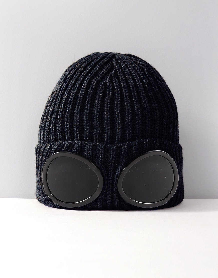 C.P. Company Goggle Hat Total Eclipse