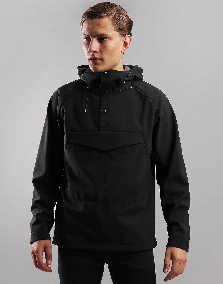 C.P. Company Shell Pullover Goggle Jacket Black