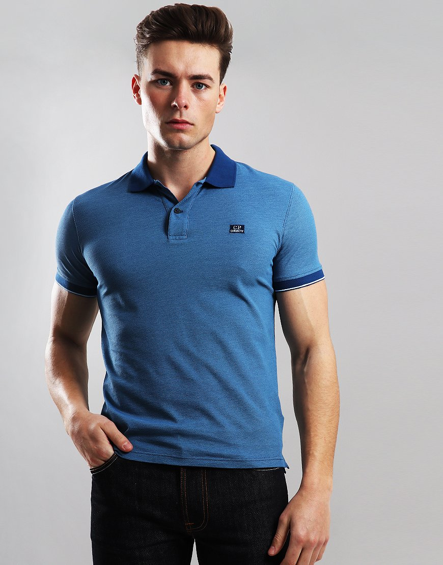C.P. Company Tacting Polo Shirt Moroccan Blue