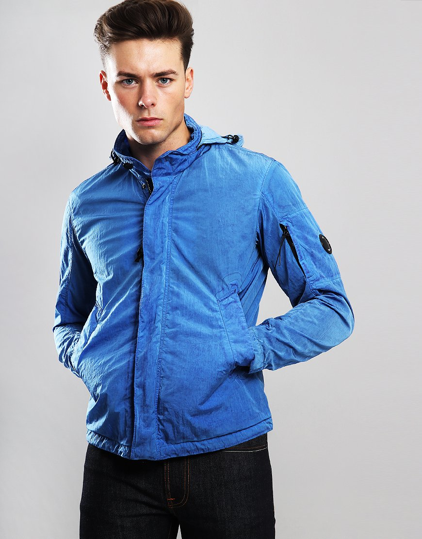 C.P. Company Arm Lens Jacket Dutch Blue