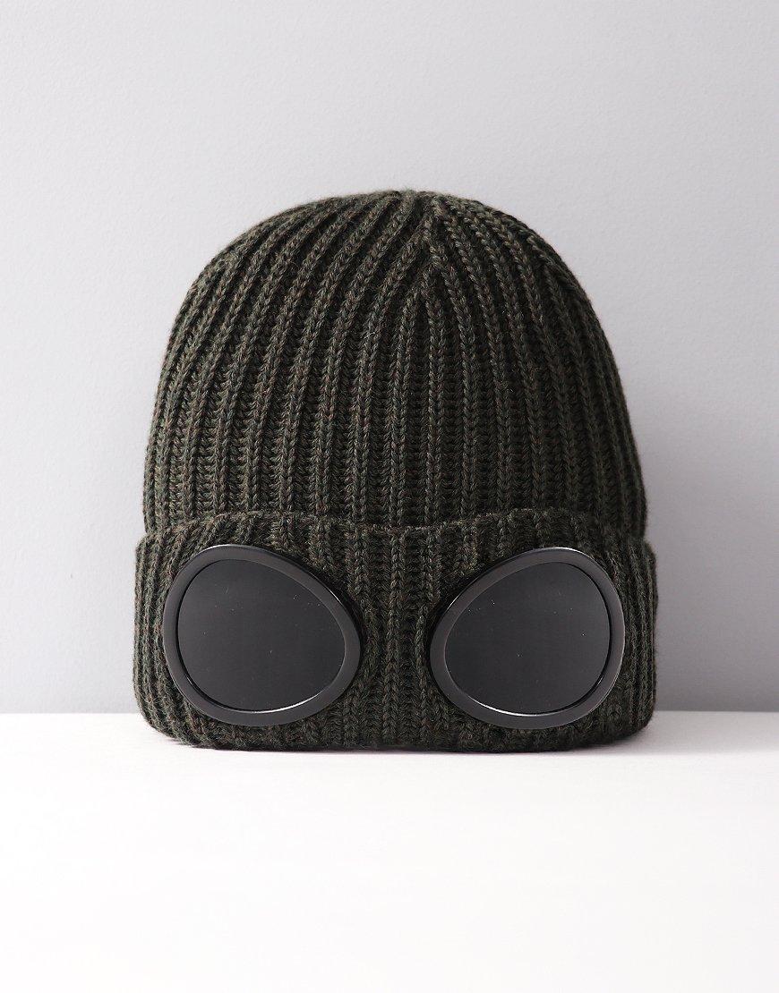 C.P.Company Undersixteen Goggle Hat Dark Olive