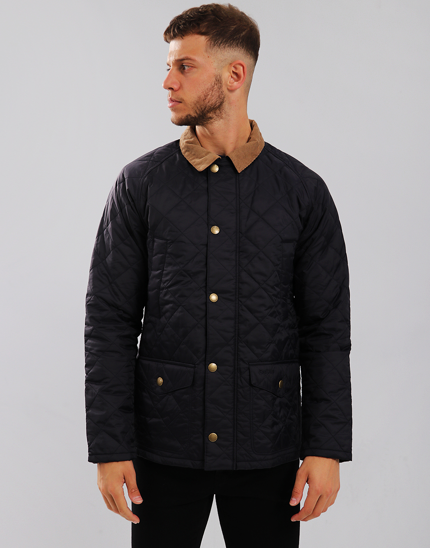 Barbour Canterdale Quilted  Jacket Navy