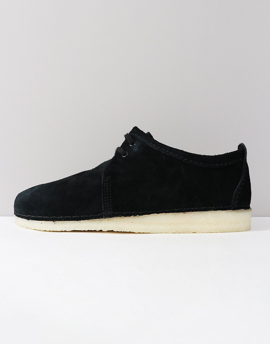 Clarks Originals Ashton Shoe Black Suede