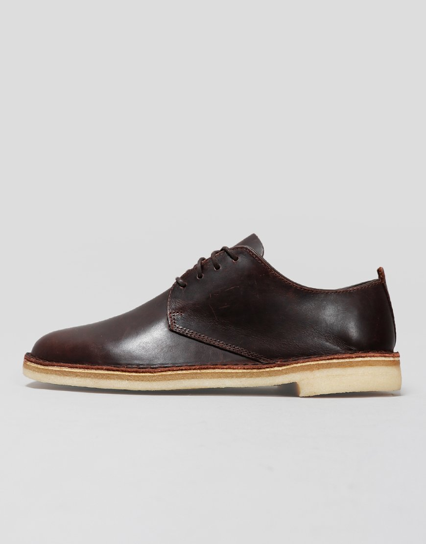 Clarks Originals Desert London Shoes Chestnut
