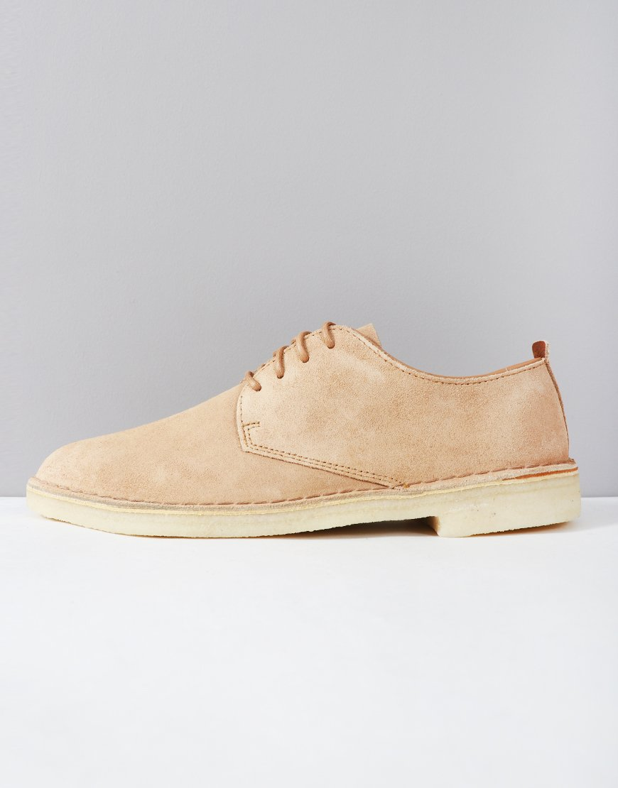 Clarks Originals Desert London Shoe Light Tan